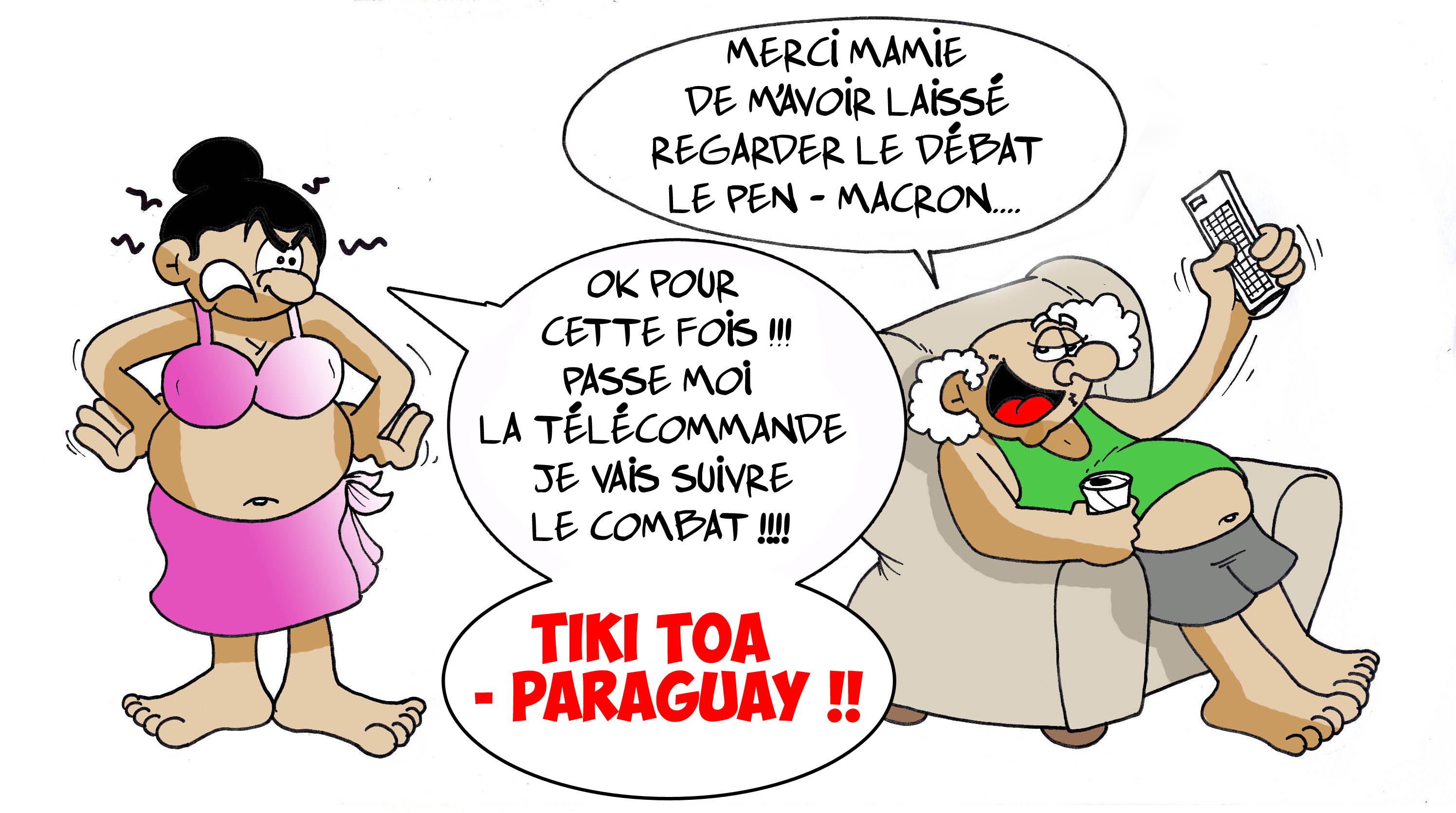 """"""" Le grand débat """" par Munoz"""