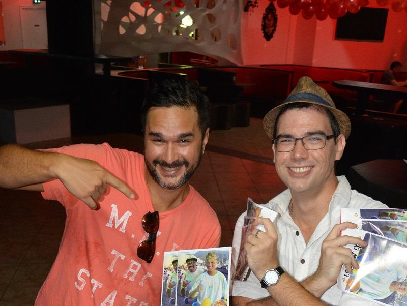 Taema et Jacques lancent un nouveau magazine en anglais pour tout le Pacifique, après s'être fait les dents sur Ui Maitai l'année dernière (quand cette photo a été prise).