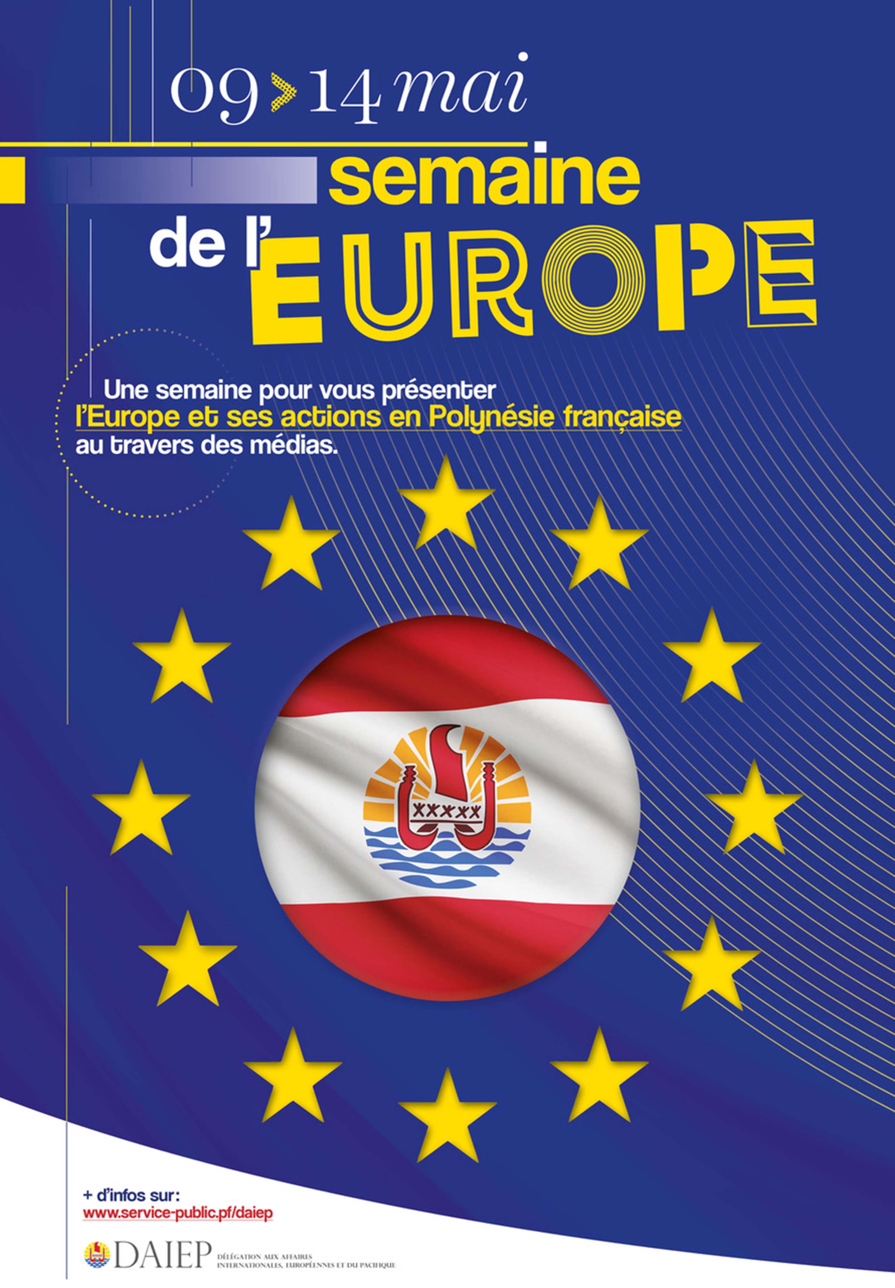 La semaine de l'Europe, en Polynésie aussi du 9 au 14 mai