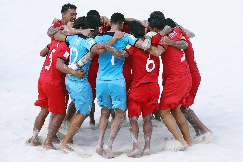 Beachsoccer – Coupe du monde : Raimoana Bennett envoie Tahiti en finale