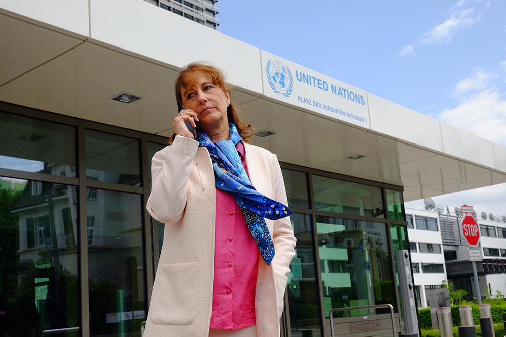La ministre de l'Environnement française, Ségolène Royal.
