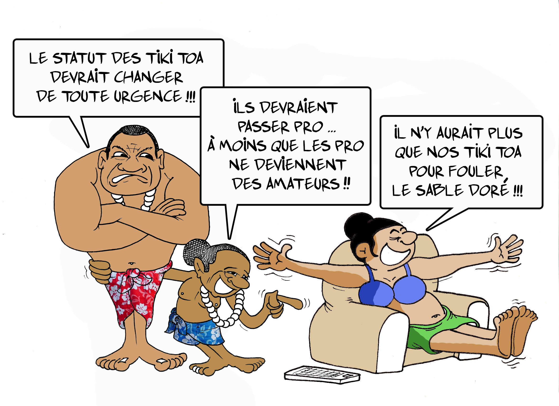 """"""" Le statut des sportifs """" par Munoz"""