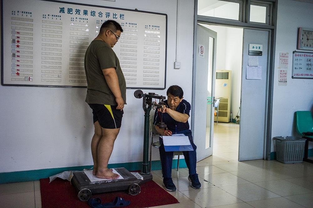 Chine: prime aux kilos en moins pour salariés au régime