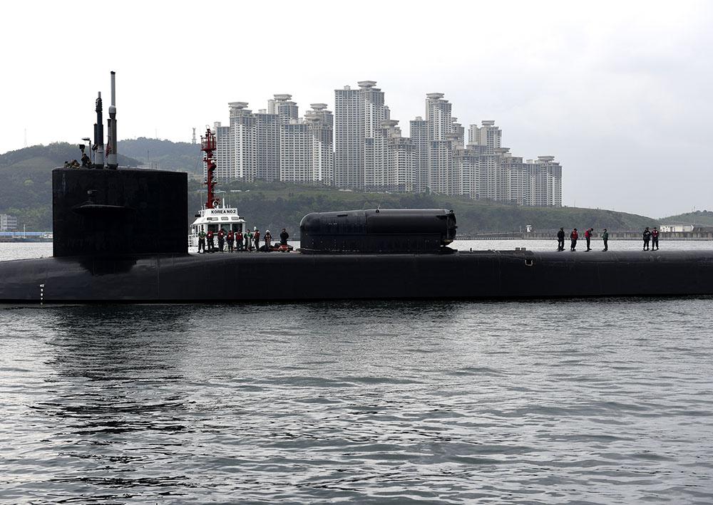 Photo d'illustration d'un sous-marin.