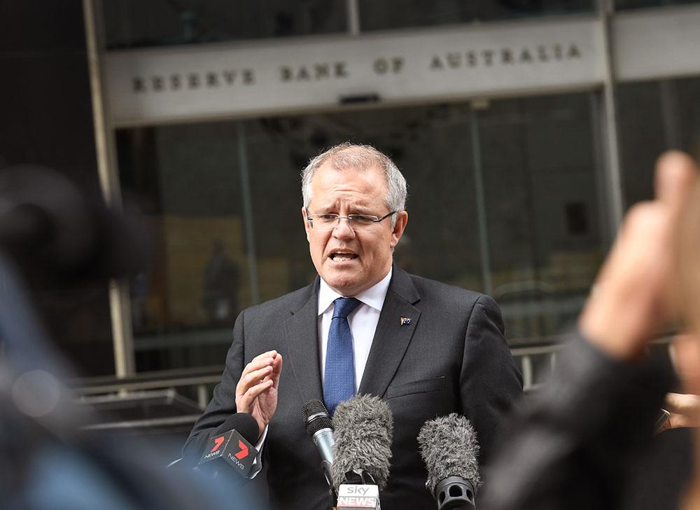 Le ministre des Finances australien Scott Morrison.
