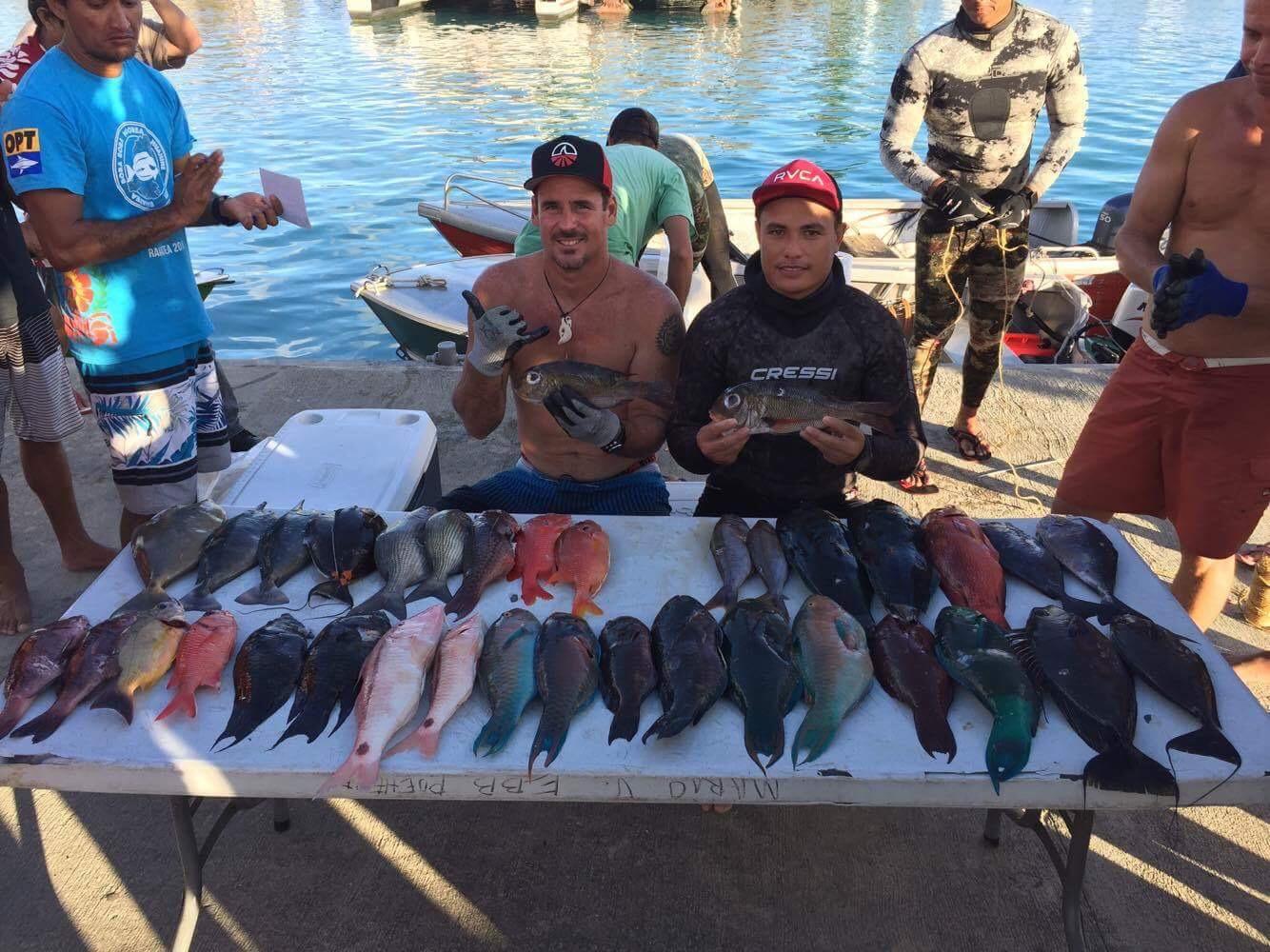 Pêche sous-marine – Championnat de Polynésie 2017 : Les Raromata'i en préparation