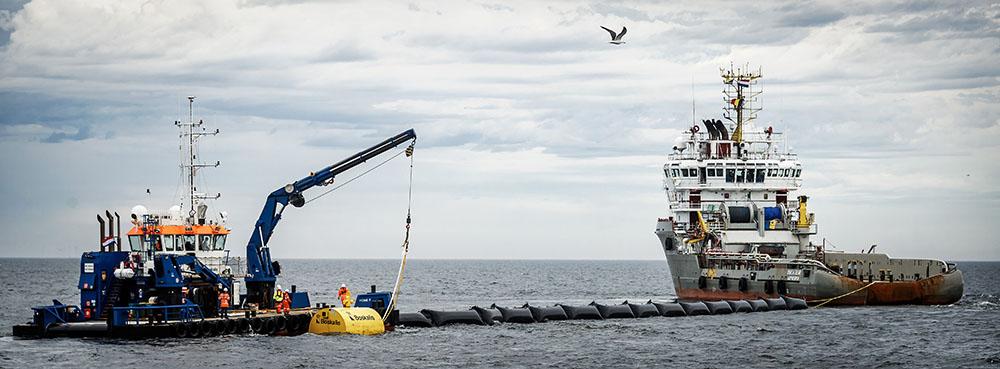 Le Néerlandais qui veut dépolluer les océans se lance plus tôt que prévu