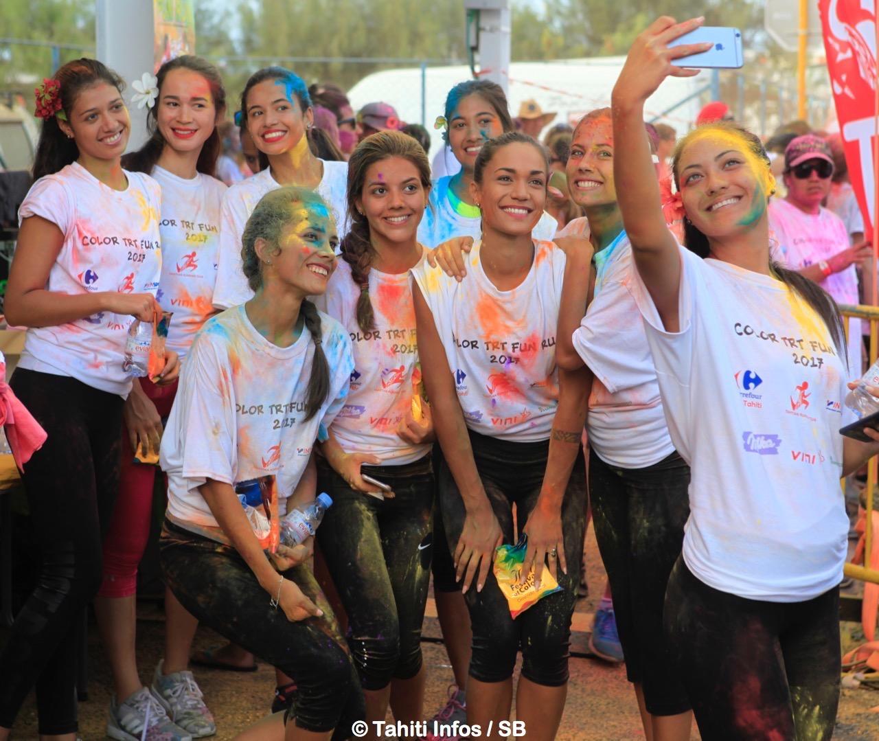 Nos candiates à Miss Tahiti 2017 étaient de la partie