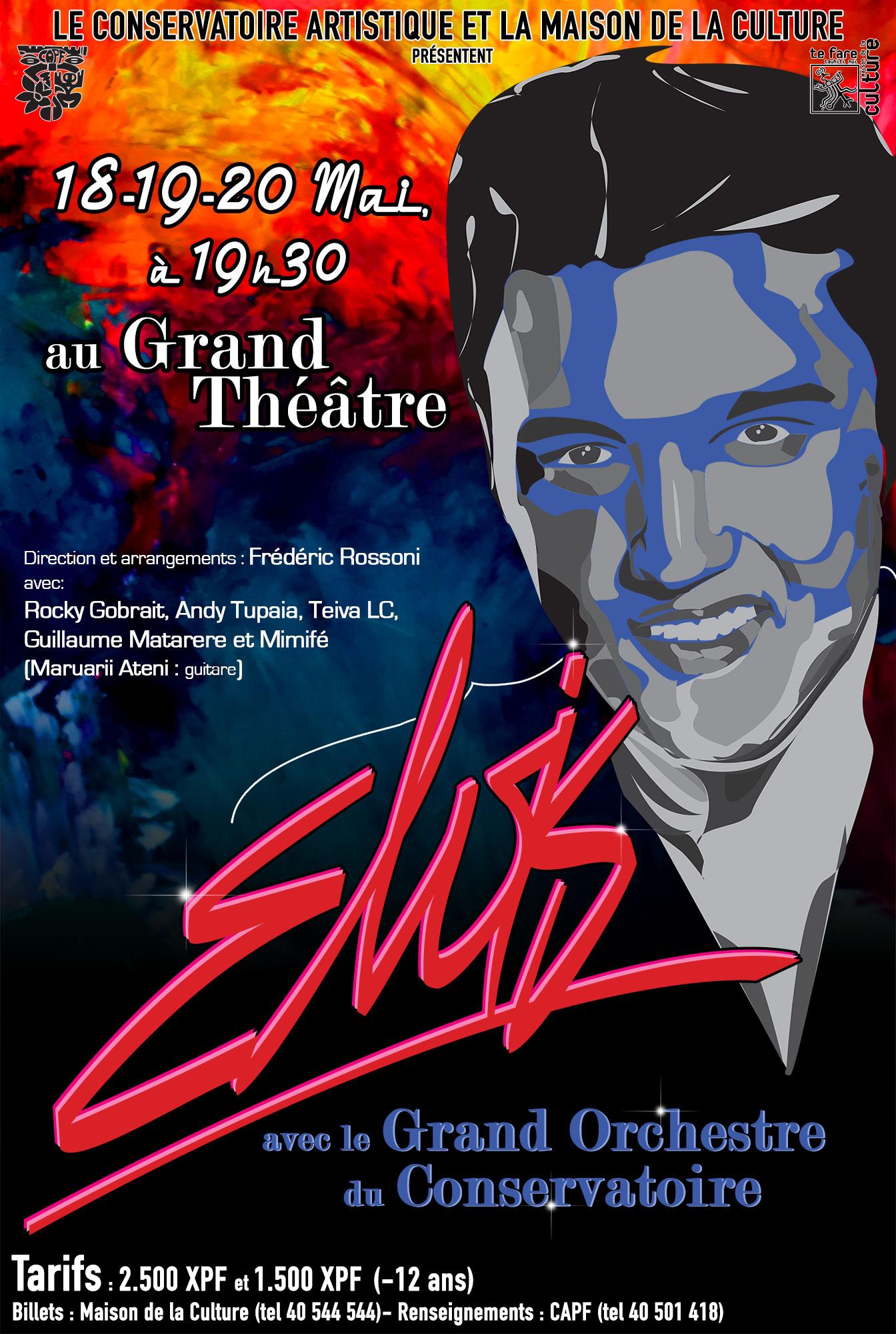 Trois concerts de légende en hommage à Elvis Presley