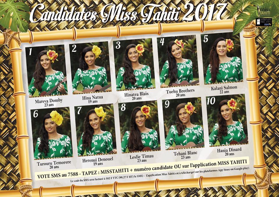crédit photo : Comité Miss Tahiti