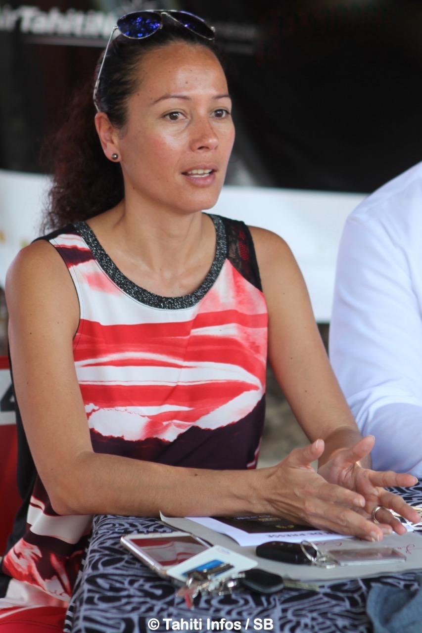 Cécile Tiatia, conseillère technique auprès de la Ministre Nicole Sanquer