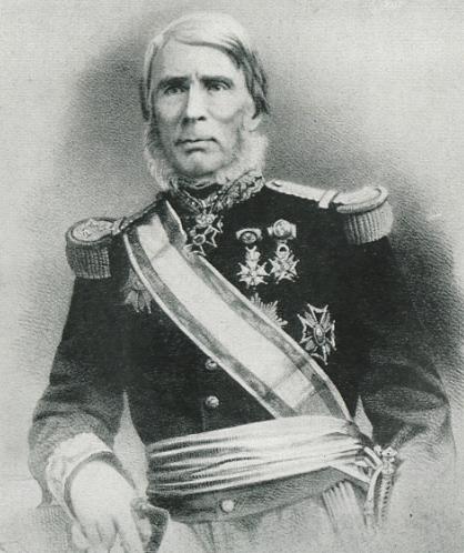 L'amiral Bonard participa à la guerre franco-tahitienne et y mit fin grâce à un coup d'éclat au fond de la Fautaua.