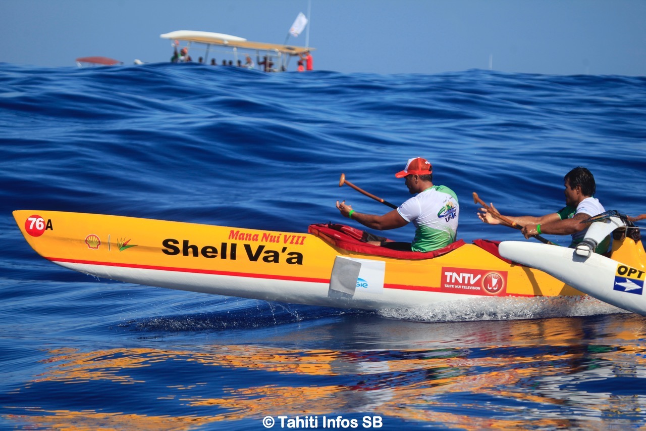 Shell Va'a a augmenté son avance au général