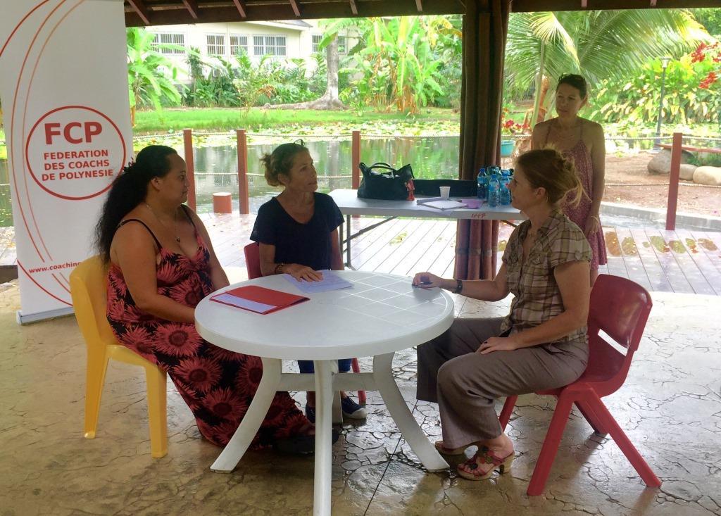 Semaine internationale du coaching en Polynésie : première !