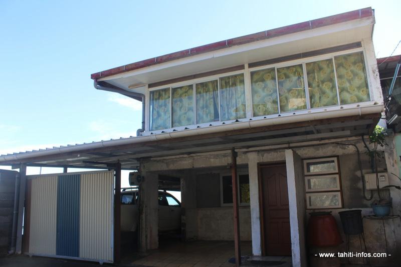 La maison de Mama Vana'a, à Faa'a.