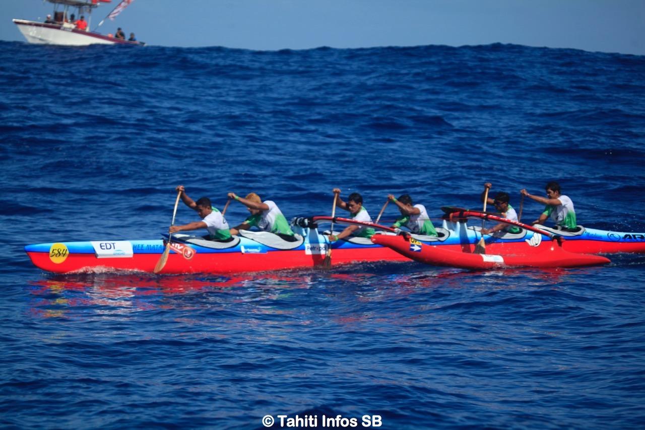 Belle 5e place pour Bora Bora