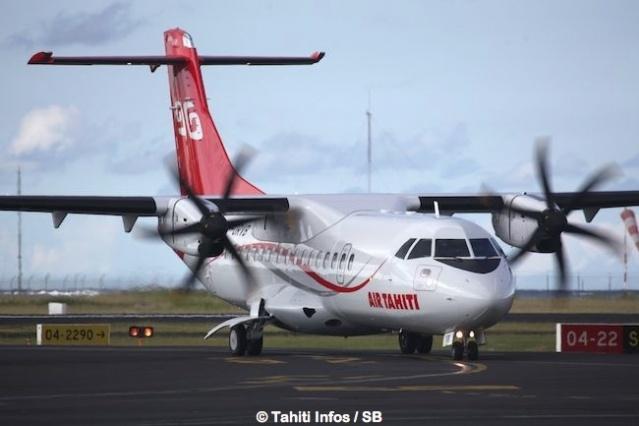 Programme des vols d'Air Tahiti du week-end