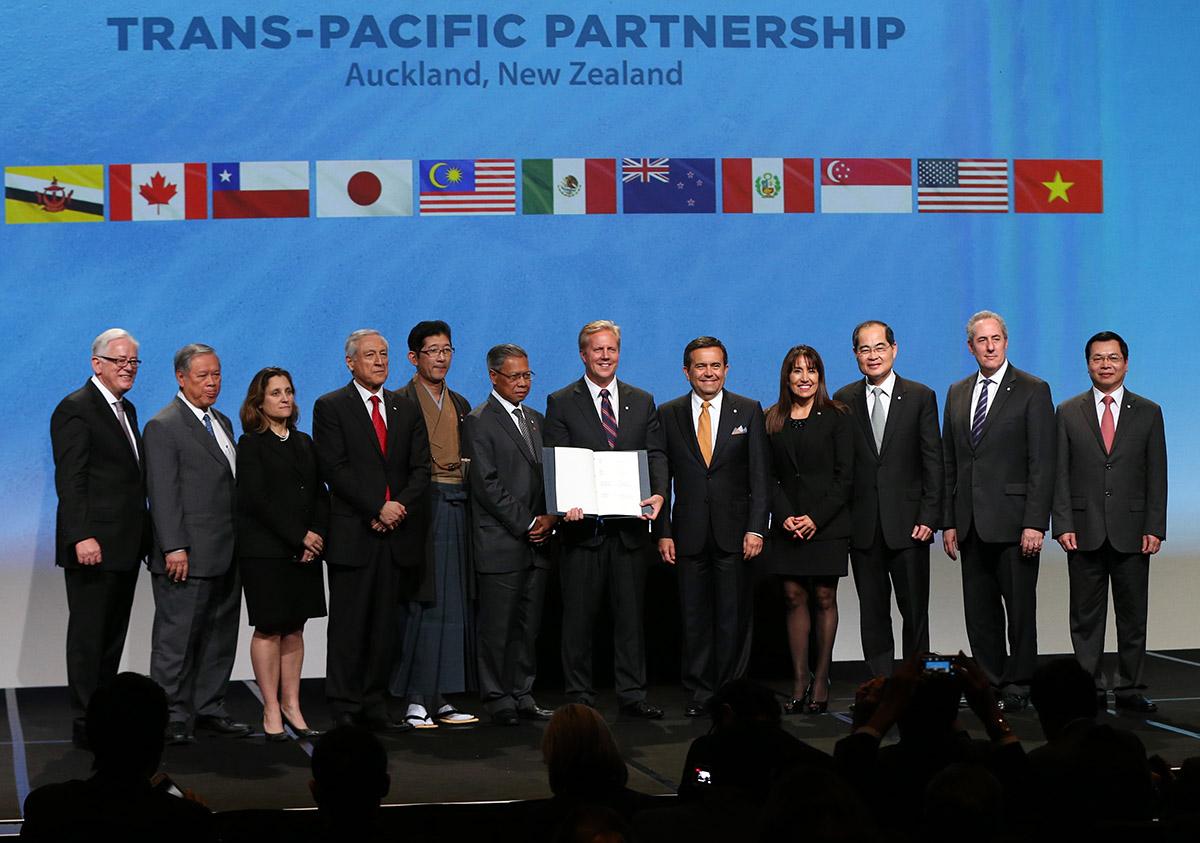 Des pays du Pacifique veulent faire vivre le TPP à 11, sans Washington