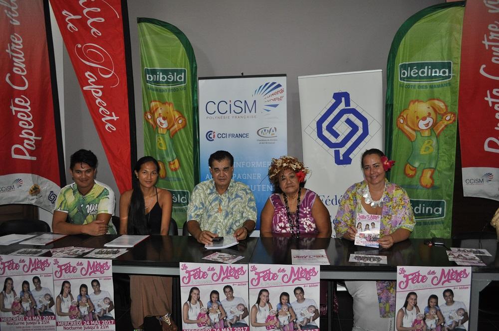 La CCISM lance la fête des mères  à Papeete