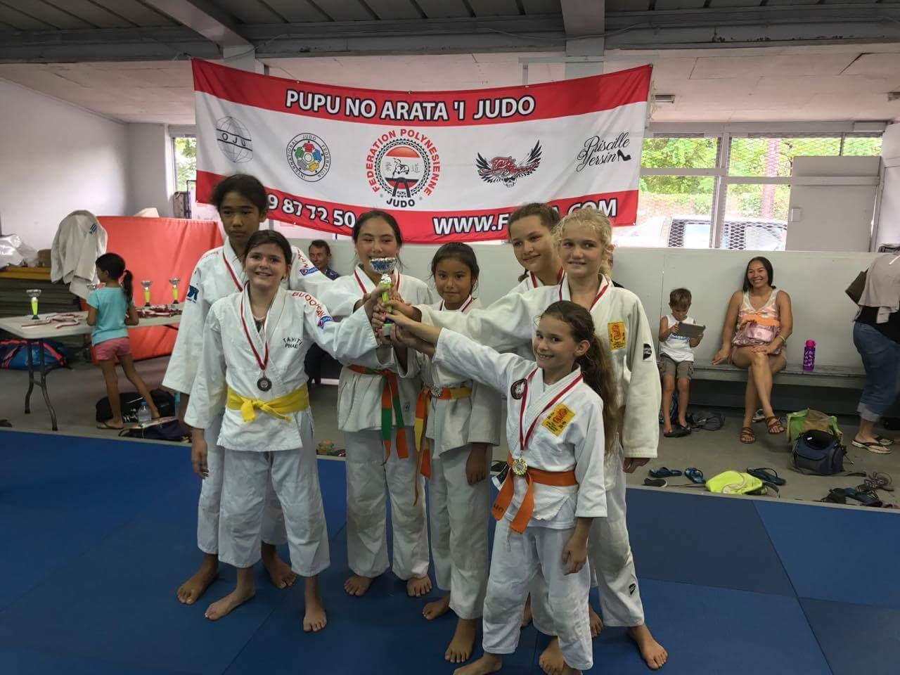 Judo – « Championnat de Polynésie par équipes » : L'AS Vénus et L'EJJP raflent tout