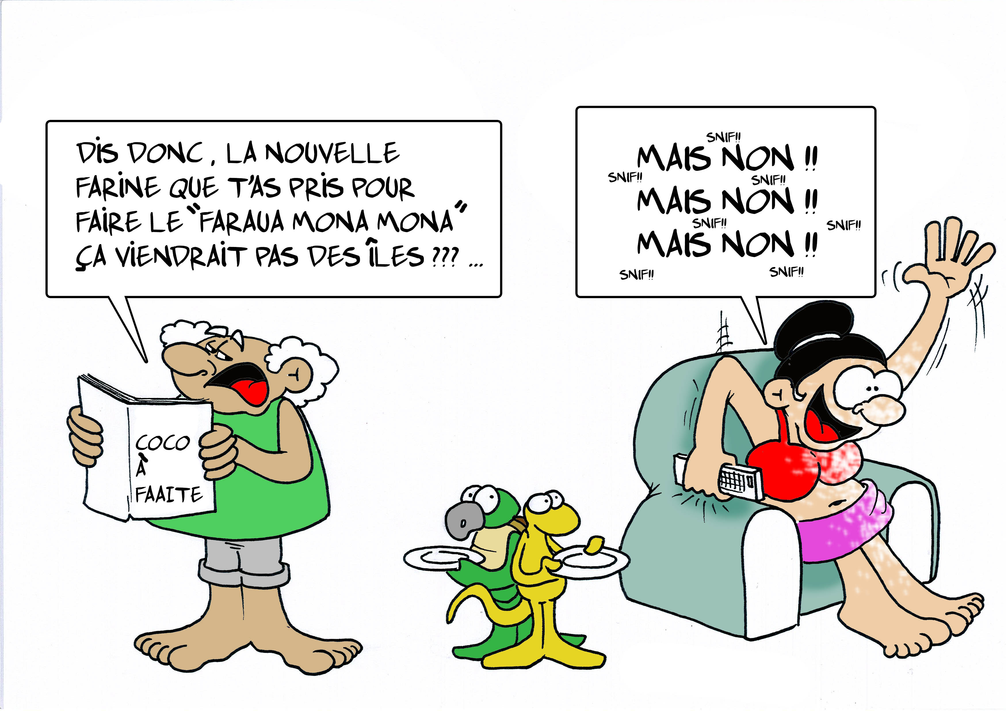 """ Coco à Faaite "" par Munoz"