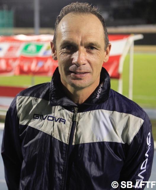 Samuel Garcia, coach de Vénus, est fier de ses joueurs