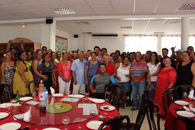 Le maire de Bora Bora a remercié mercredi dernier, l'ensemble de ses ambassadeurs POD (crédit photo : commune de Bora Bora).