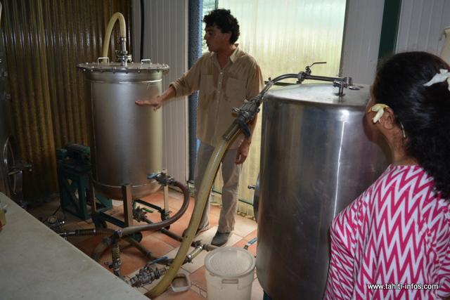 Pour transformer les gousses de vanille, Taivini et ses amis utilisent ces machines.