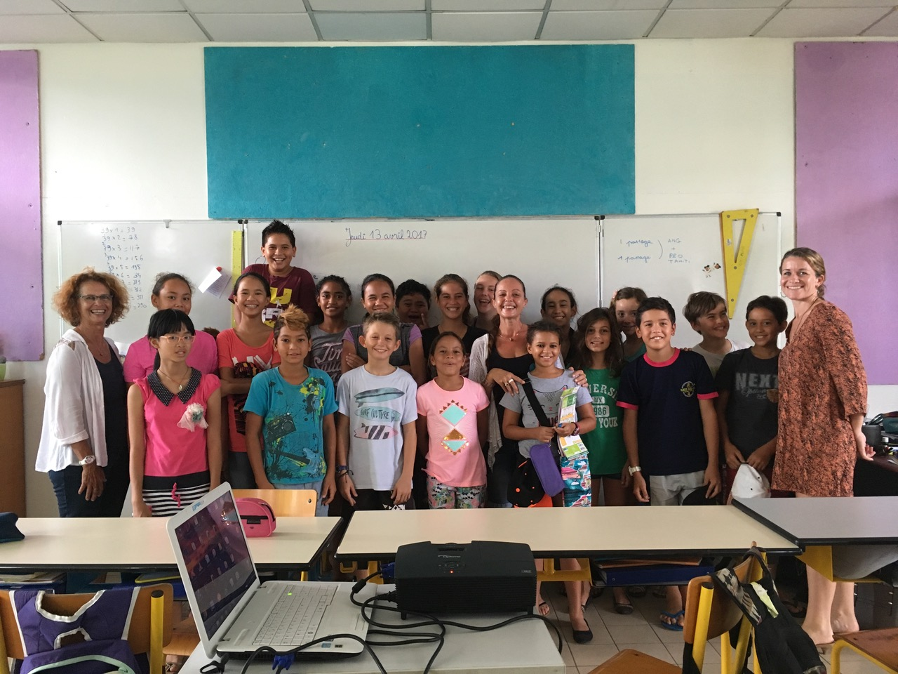 14 classes (Cycle 3 et collèges) ont participé à ce projet éducatif.