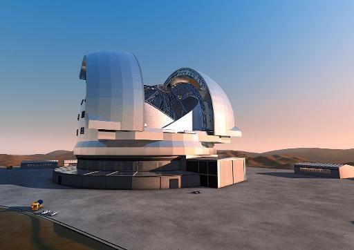 Chili: démarrage de la construction du plus grand télescope du monde