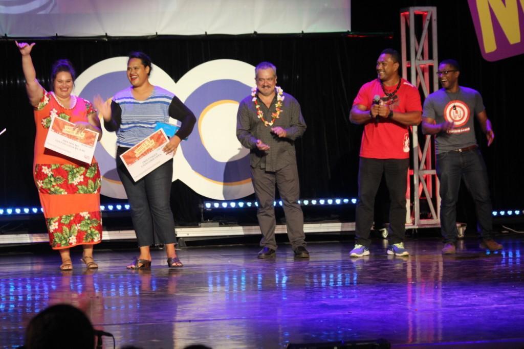 Le duo Pukan's Prada, composé de Maud Teraiamano et Teipotemarama Tetoe, a gagné le prix spécial  coup de cœur du jury.
