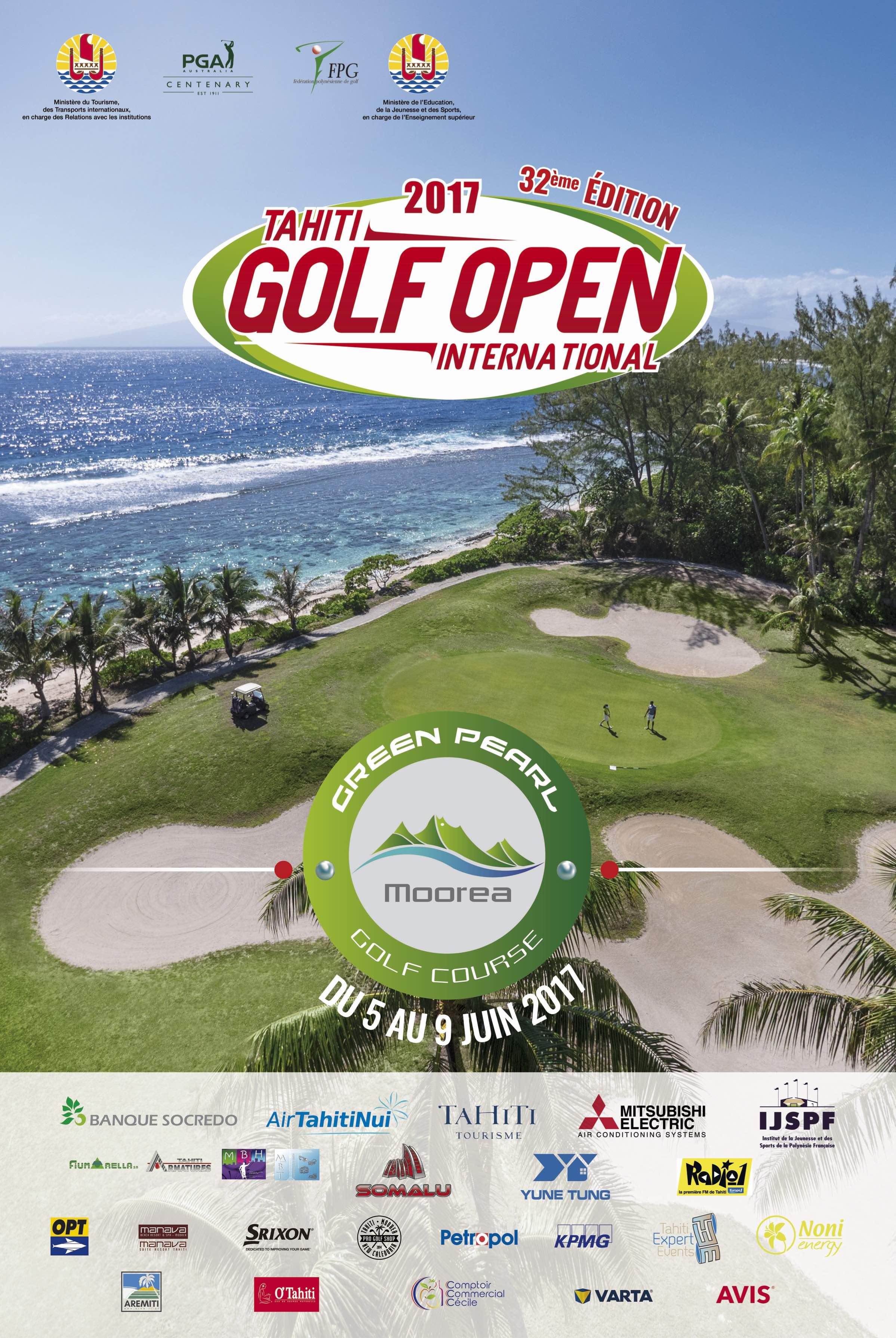 Golf – Tahiti Open International : Un nouveau départ pour le Golf de Moorea