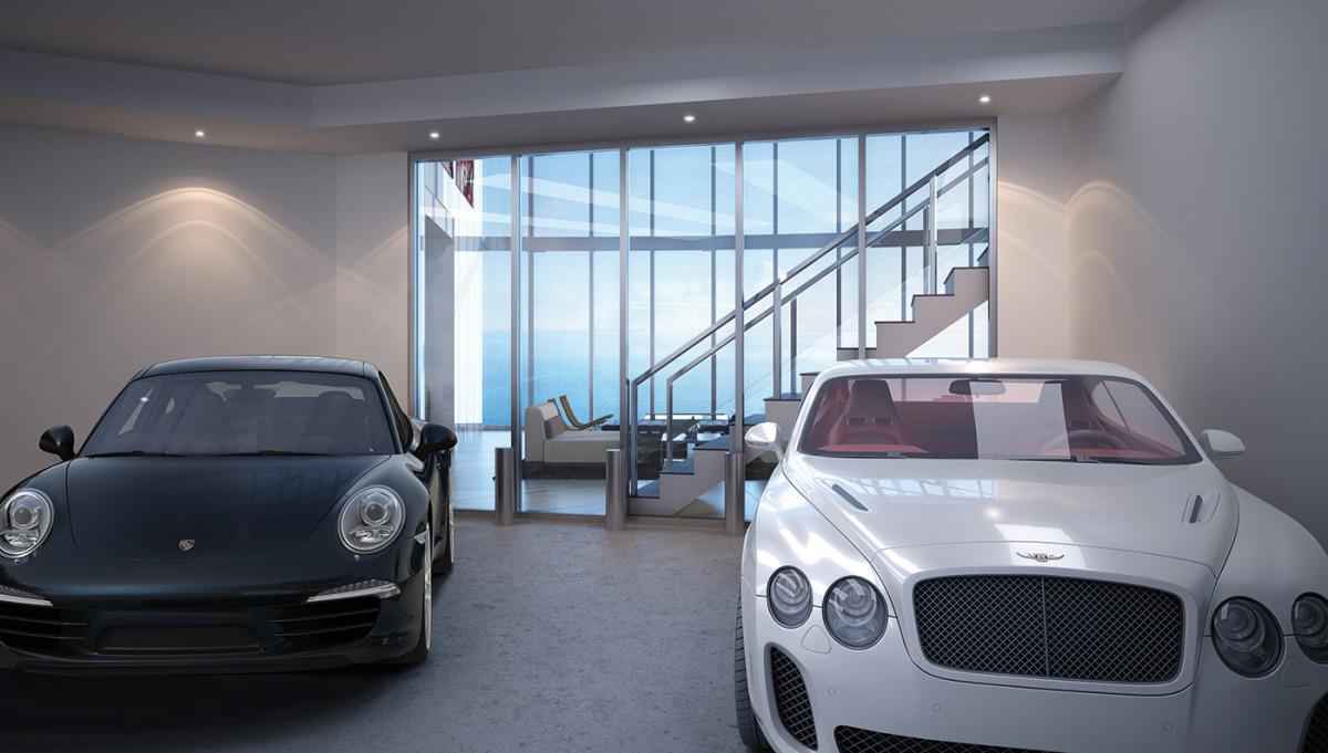 A Miami, les riches peuvent garer leur voiture dans le salon