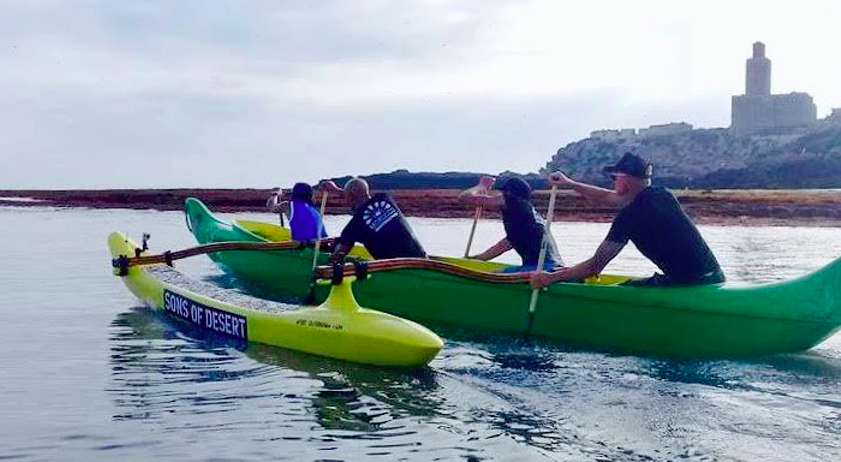 De la pirogue à Essaouira aux Championnats du monde de va'a à Tahiti