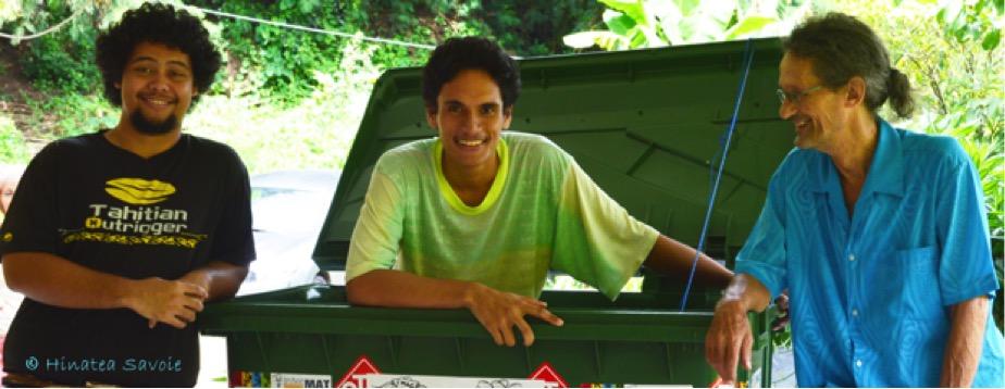 Le metteur en scène a offert les premiers rôles à Dylan Tiarii et Maki Teharuru, deux de ses anciens élèves polynésiens en option théâtre.