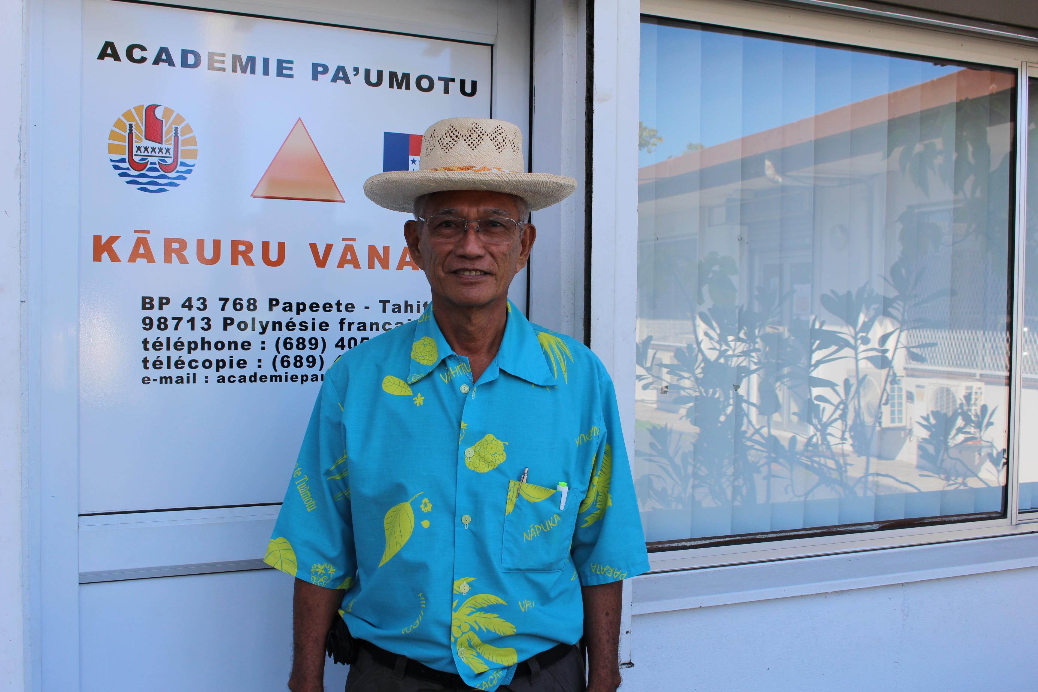 L'Académie pa'umotu, Kāruru vānaga, poursuit ses travaux