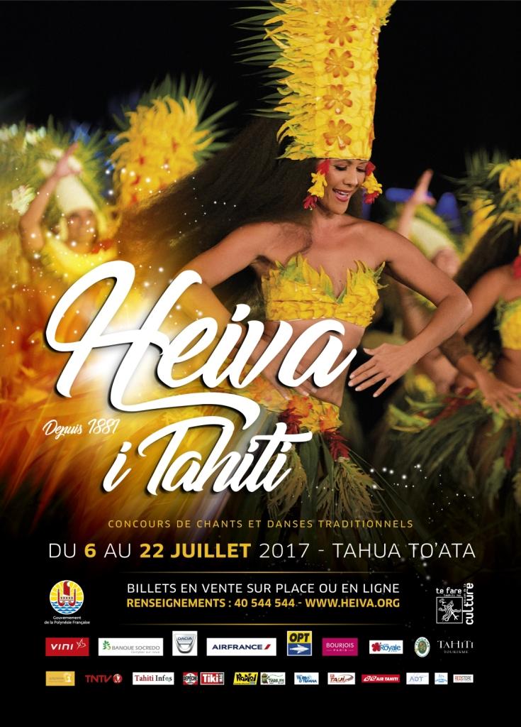Heiva i Tahiti 2017 : la culture polynésienne célébrée tout le mois de juillet