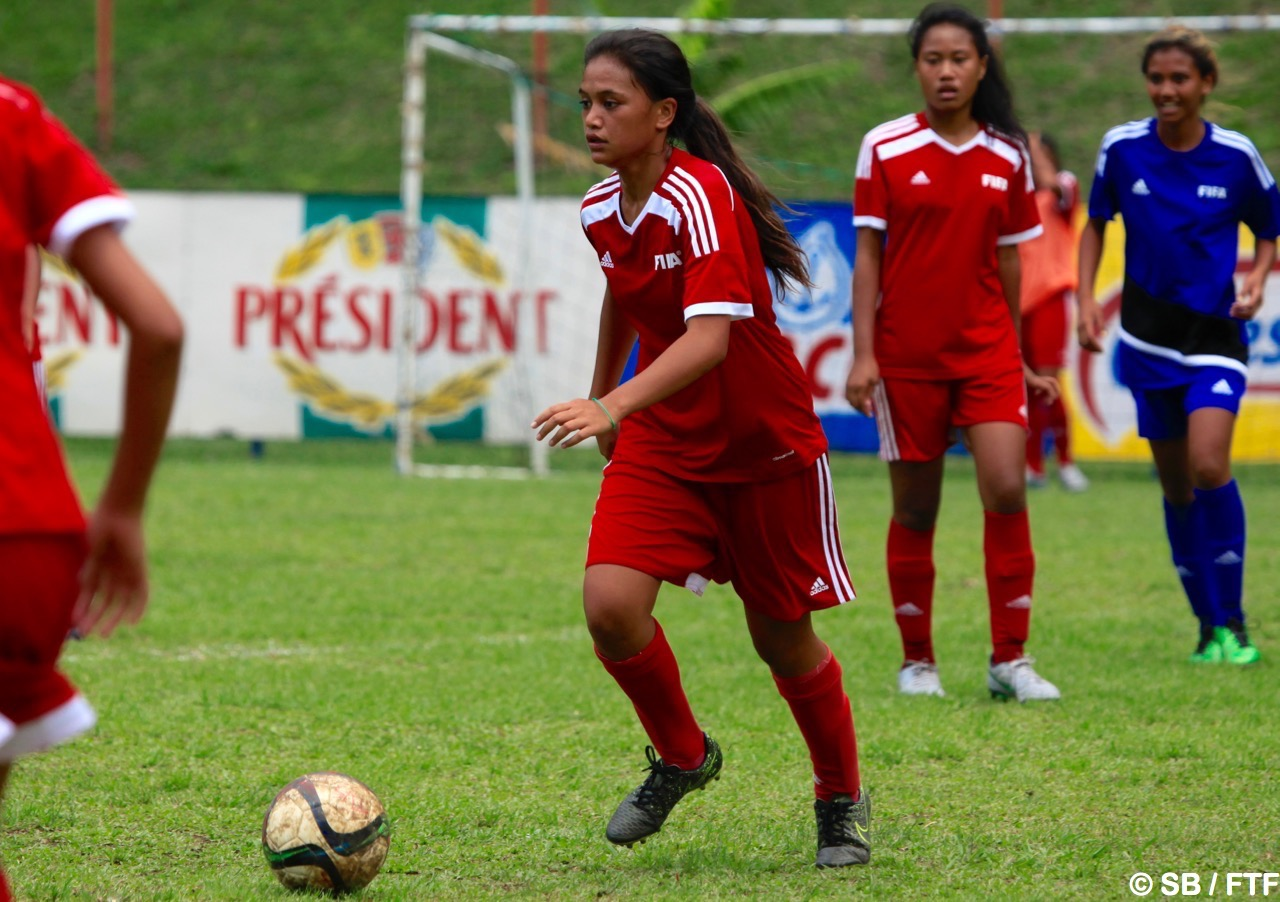 Vaihei est la fille de l'ancien gardien de la sélection de Tahiti et de Tefana