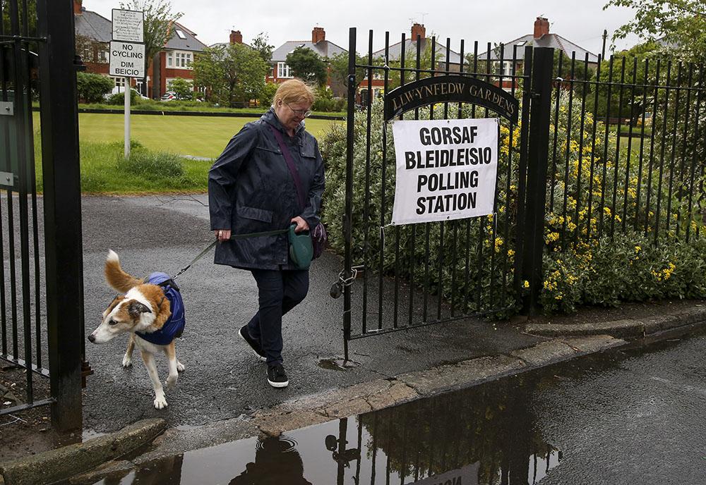 GB: les chiens, stars inattendues des législatives