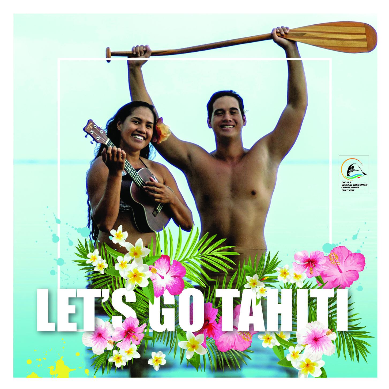 """""""Let's Go Tahiti"""" : la chanson officielle des premiers Championnats du monde de va'a marathon"""