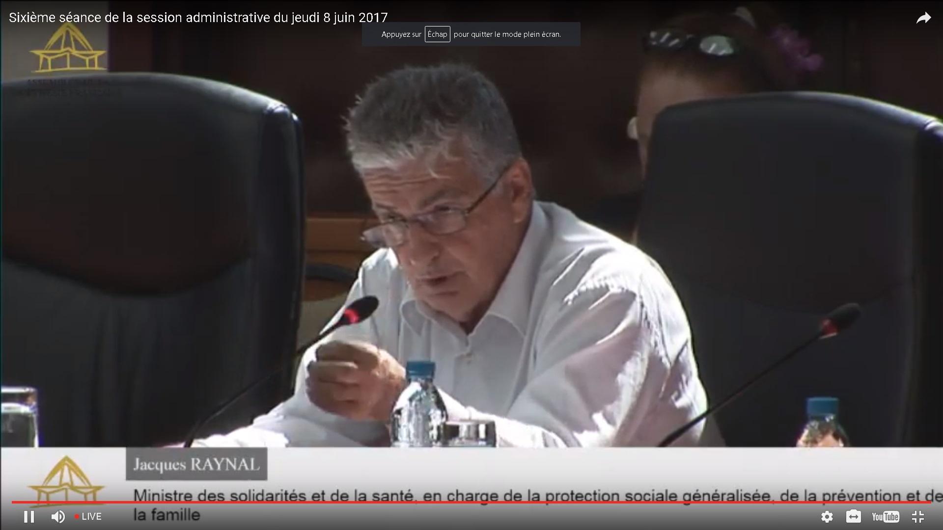 Service oncologie du CHPF : Jacques Raynal fait le point