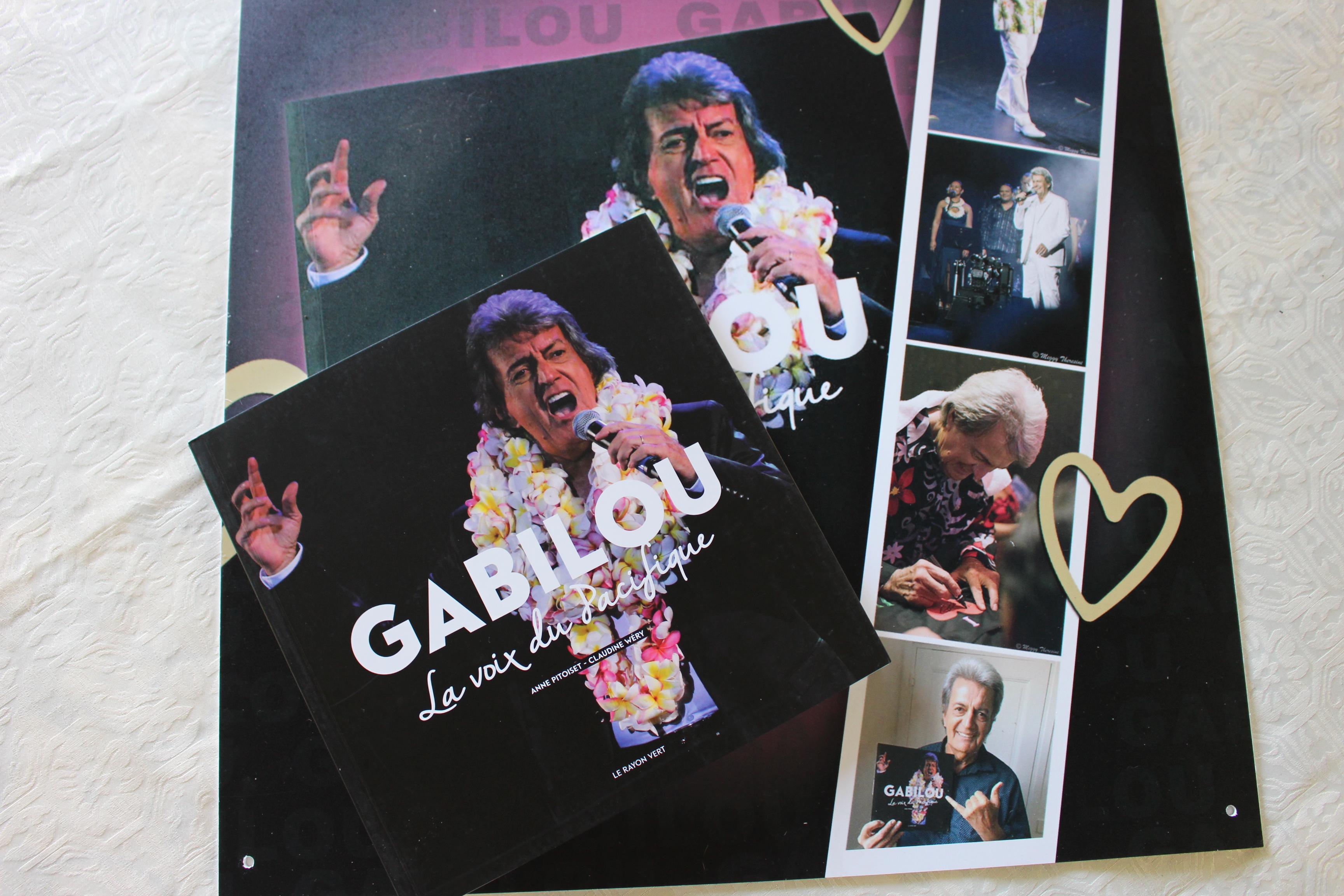 Gabilou, un livre et un nouvel Olympia
