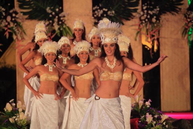 Vaea Ferrand, Miss Tahiti 2016, a ravi l'assemblée.
