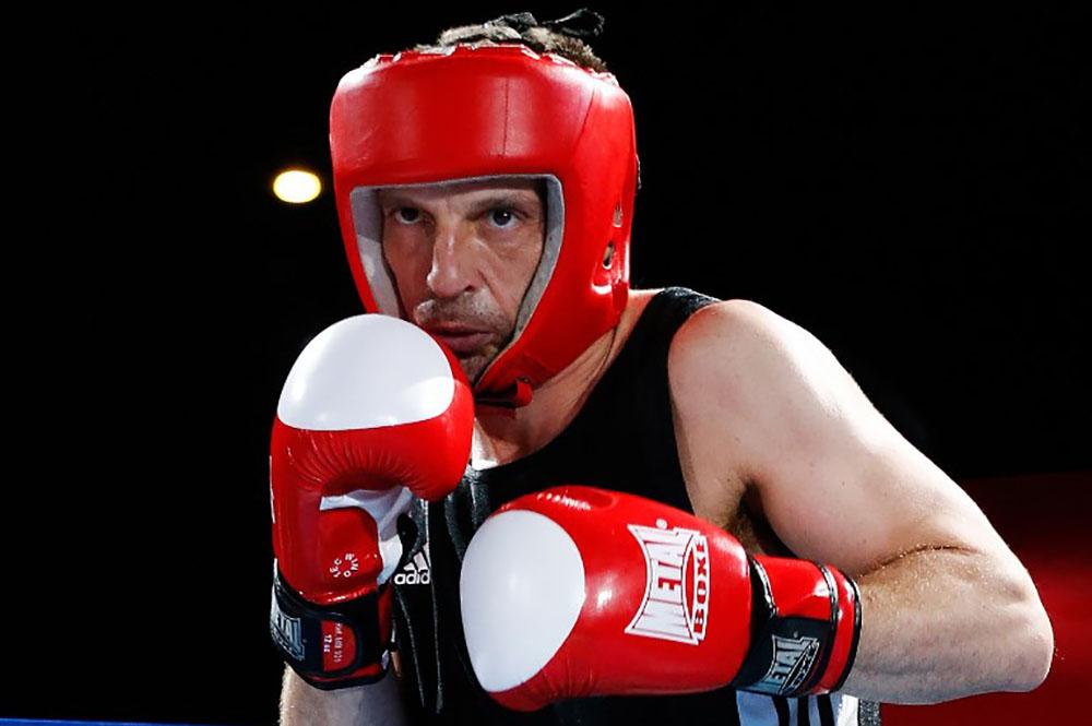"""Boxe: Mathieu Kassovitz """"s'est bien amusé"""" lors de son premier combat"""