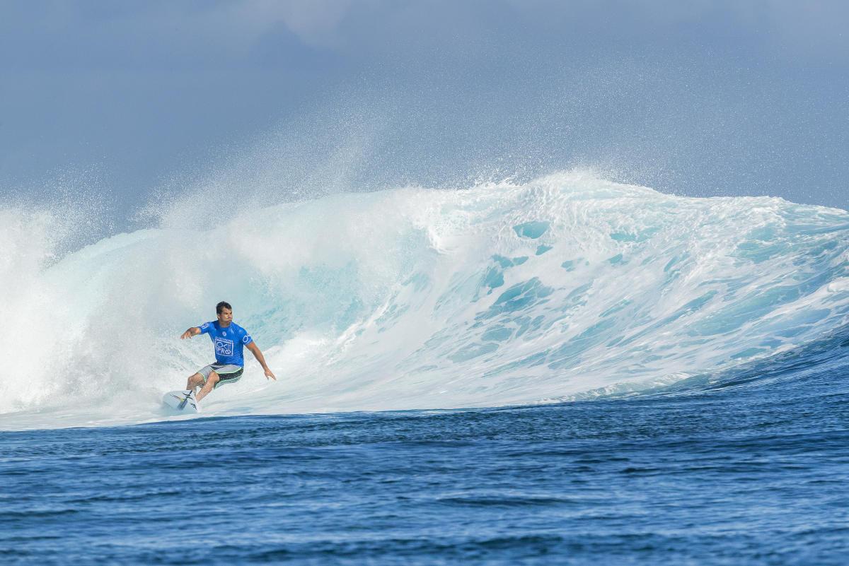 Michel réalise un excellent parcours à Fidji