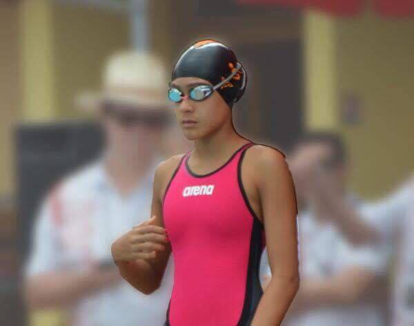 Belle perf pour Poerani, la jeune nageuse de l'OLP