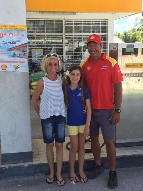 Séverine et sa fille iront en Californie grâce à Shell