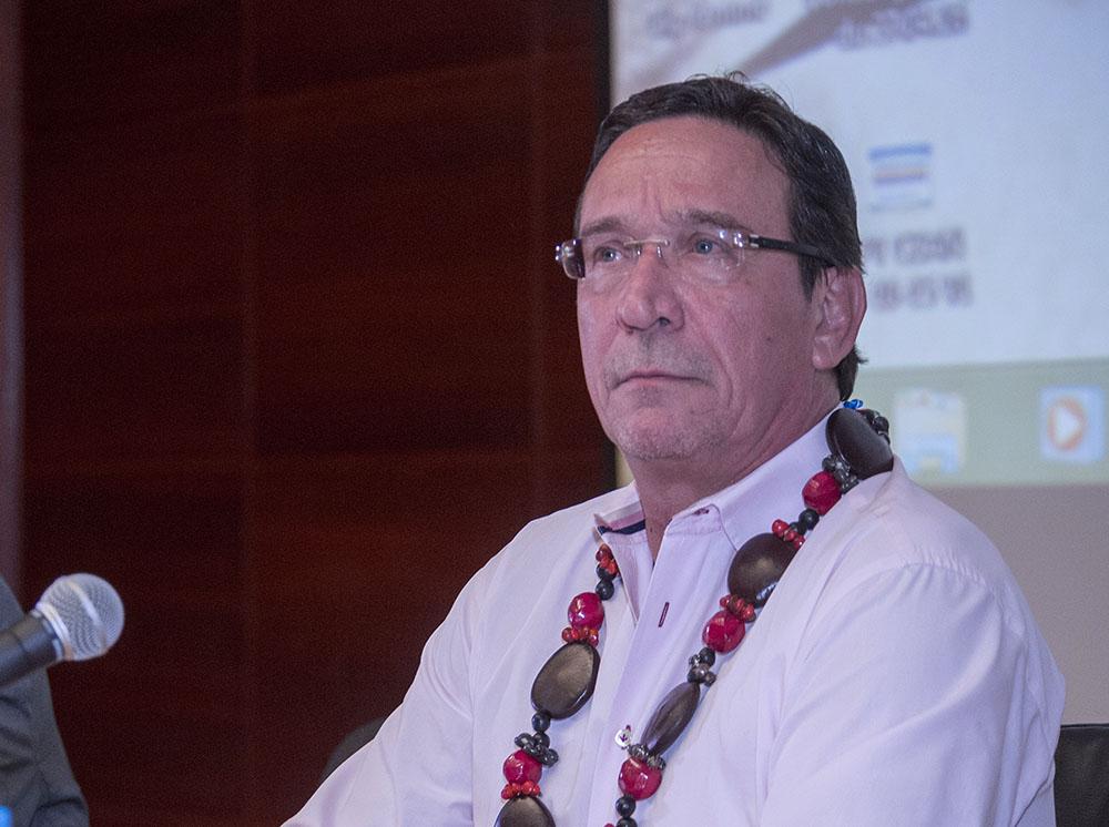 Philippe Gomès (UDI), chef du parti de centre droit, Calédonie Ensemble.