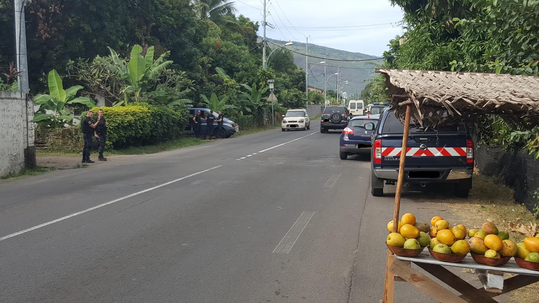 Homme tué par un gendarme à Paea : la reconstitution ce matin sur les lieux