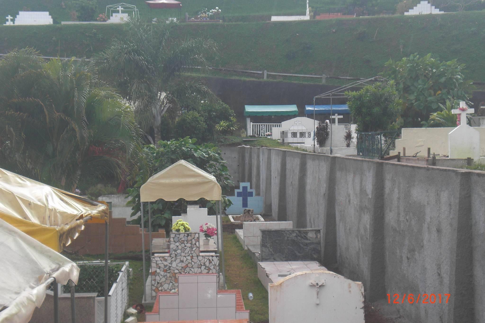 Faa'a : l'enceinte du cimetière Te E'a Nui sécurisée